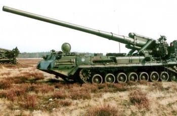 САУ 2С7 Пион (2С7М Малка) ТТХ. Калибр. Размеры. Дальность стрельбы