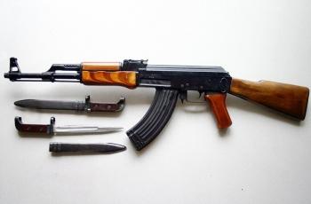 Автомат АК-47 патрон калибр 7,62 мм. Устройство. Скорострельность