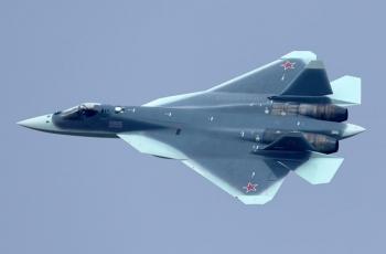 ПАК ФА Т-50 - истребитель пятого поколения