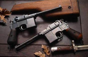 Пистолет Маузер К96 патрон калибр 7,63 и 9 мм. Устройство