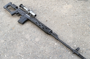 Снайперская винтовка Драгунова СВД калибр 7,62 мм. Устройство