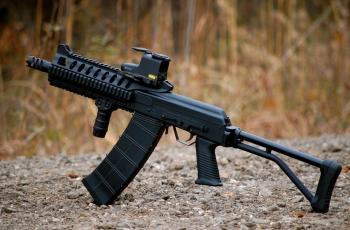 Самозарядное ружье Сайга-12 патрон, калибр. Устройство