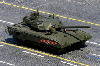 Танк Т-14 Армата Двигатель. Вес. Размеры. Вооружение