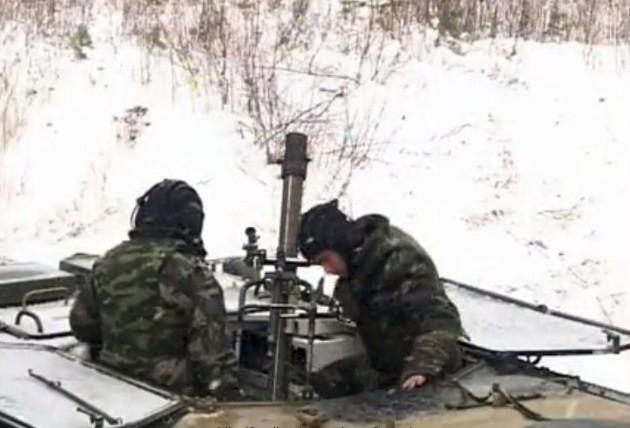 2К32 Дева - 82-мм самоходный минометный комплекс Миномет Тюльпан Ттх