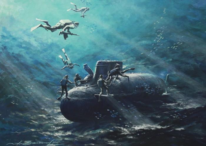 японский мультфильм подводная лодка