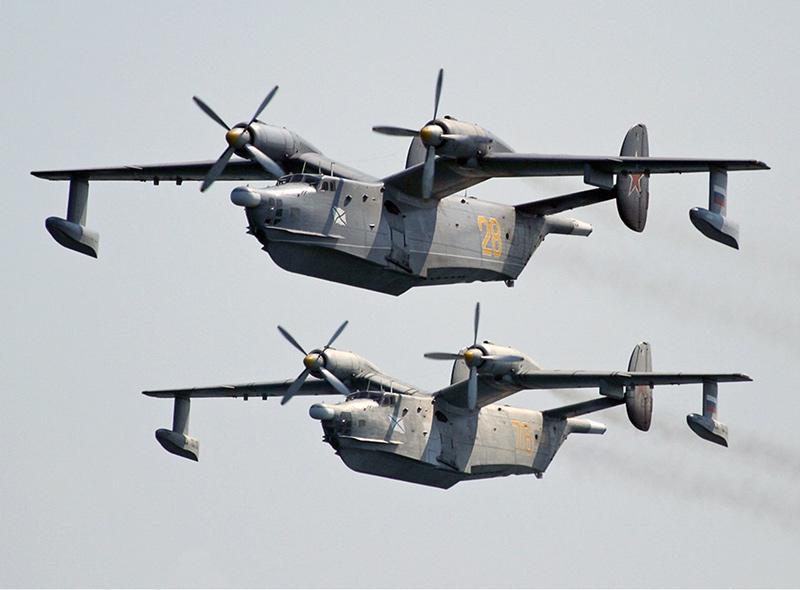 """Бе-12 """"Чайка"""" - самолет-амфибия"""