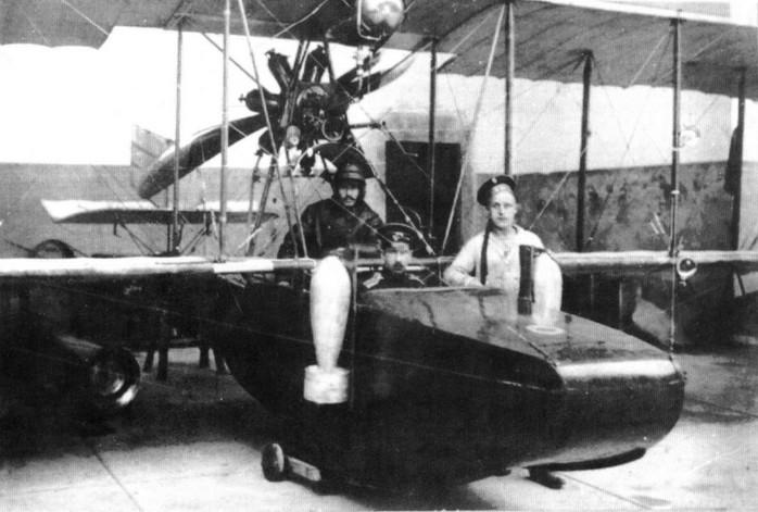 М-1 - первый гидросамолет Григоровича