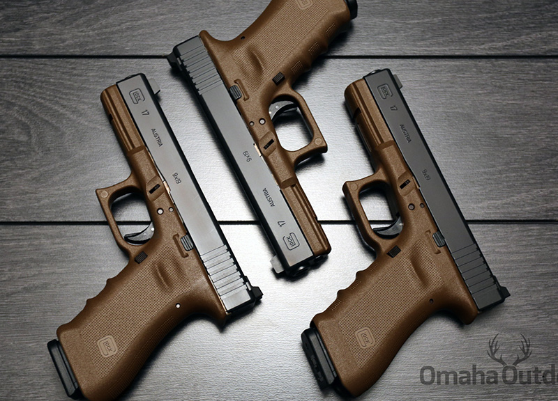 Пистолет Glock 17 RTF2 FDE Vickers Tactical 9mm