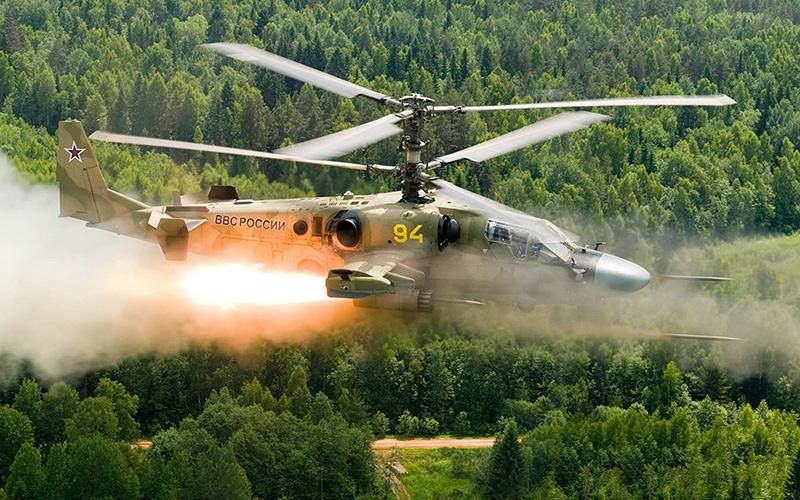 """Ка-52 """"Аллигатор"""" - ударный вертолет"""