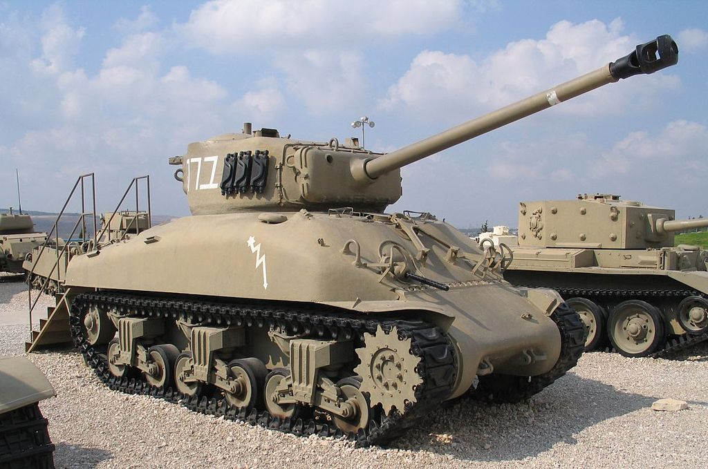 M4A1(76-mm)W Sherman