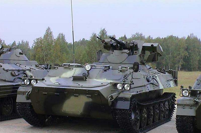 Вариант модернизации МТ-ЛБ (6М1Б3)
