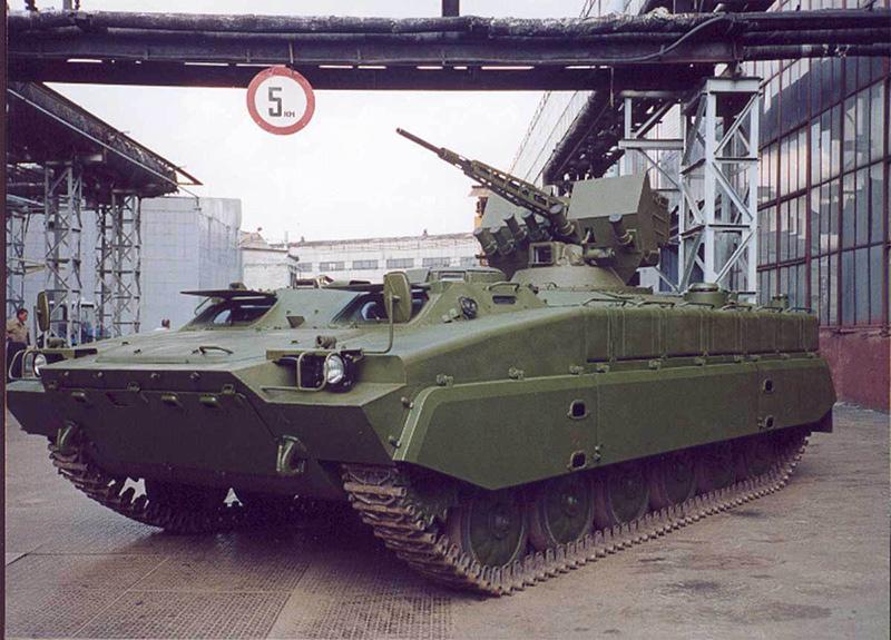 МТ-ЛБР6 — украинский бронетранспортёр на шасси МТ-ЛБ