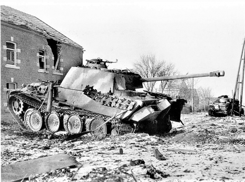 Tank Panther V Ausf. G (116. Panzer-Division «Windhund»)