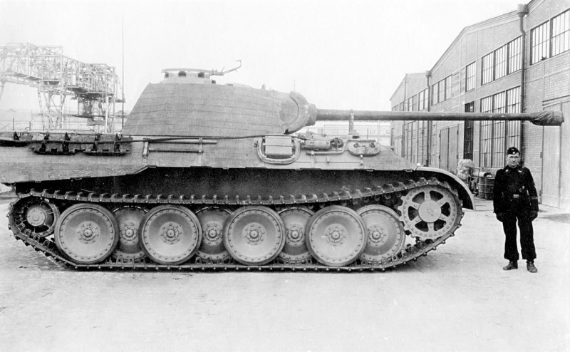 Tank Panther V Ausf. A (Sd.Kfz. 171)