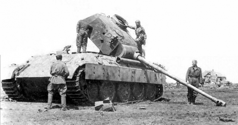 Tank Panther V Ausf. D