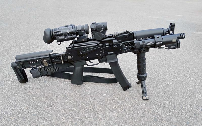 ПП-19-01 «Витязь» - пистолет-пулемет