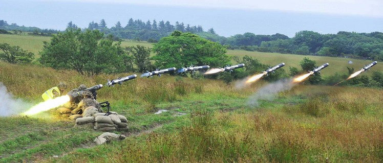 ПТРК FGM-148 Джавелин - американский противотанковый ракетный комплекс