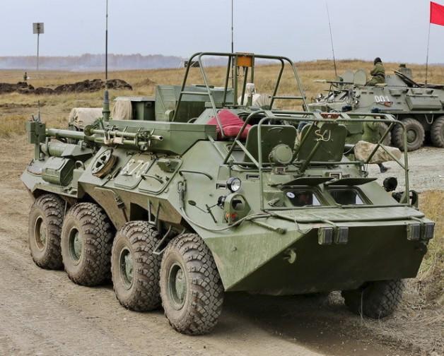 Р-149БМР «Кушетка-Б» - командно-штабная машина оперативно-тактического звена