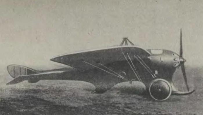 «Дельфин» - самолет Дыбовского