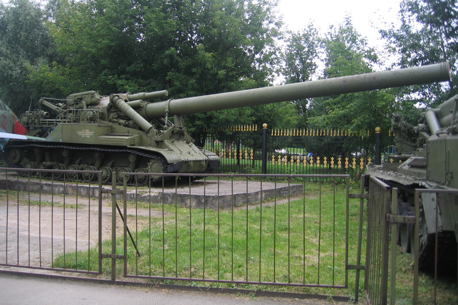 САУ 2А3 Конденсатор-2П калибр 406-мм Фото. ТТХ. История Миномет Тюльпан Ттх