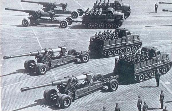 Тяжелый орудийный трактор АТ-Т