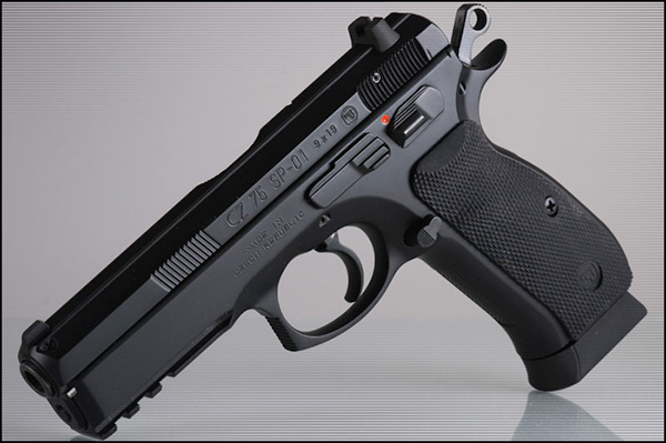 CZ-75 SP01 — пистолет
