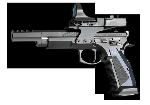 CZ-75TS — пистолет