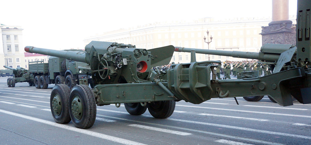 2А36 «Гиацинт-Б» - буксируемая армата 052-мм