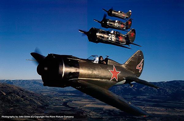 """И-16 """"Ишак"""" — советский истребитель Второй мировой войны"""