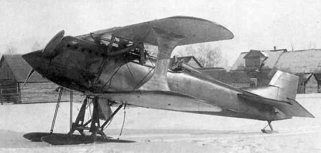 И-2 - первый советский истребитель собственной конструкции