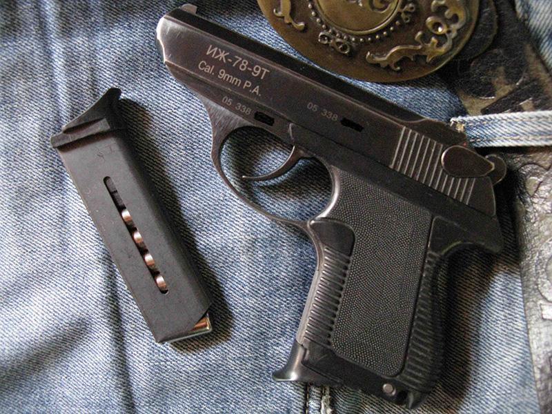 Иж-78-9Т пистолет травматический - отзывы, технические ...
