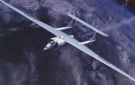 """М-17 """"Стратосфера"""" - высотный дозвуковой самолет-разведчик"""