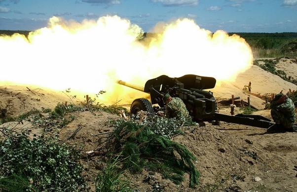 "Противотанковая фалькон МТ-12 (2А29) ""Рапира"""