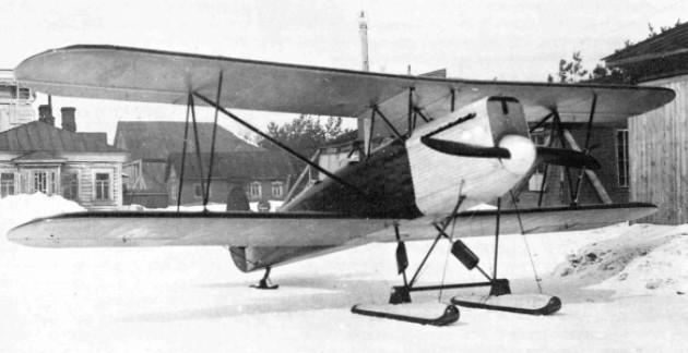 2У-БЗ - учебно-тренировочный самолет
