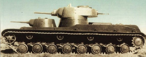 The Soviet SMK heavy tank