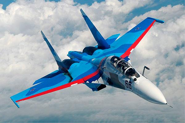 """Су-30 - двухместный истребитель поколения """"4+"""""""