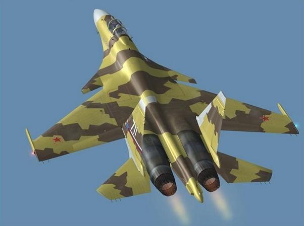 """СУ-37 """"Терминатор"""""""
