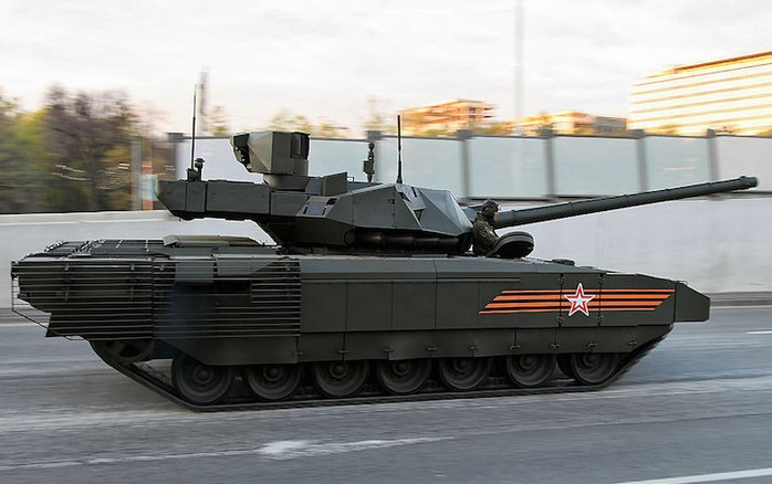 Т-14 «Армата» - новейший российский боевой танк