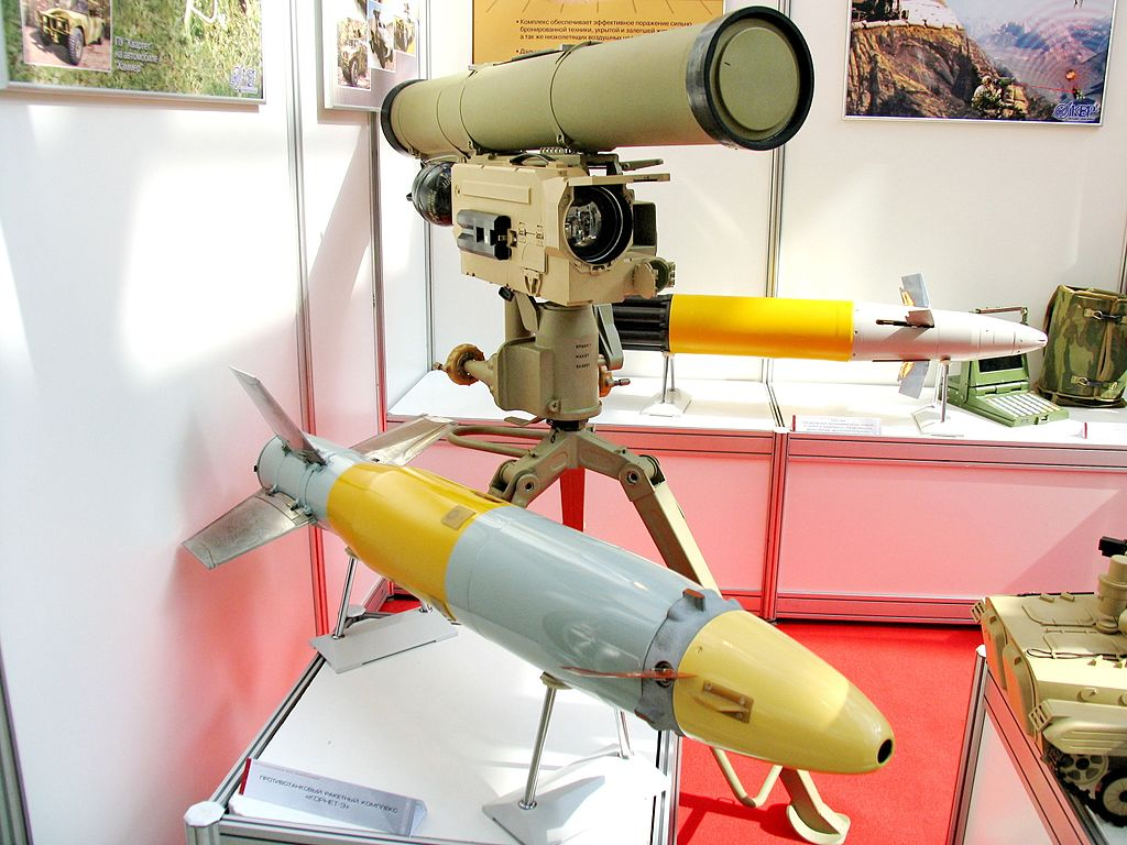 The AT-14 Kornet anti-tank laser-guided missile