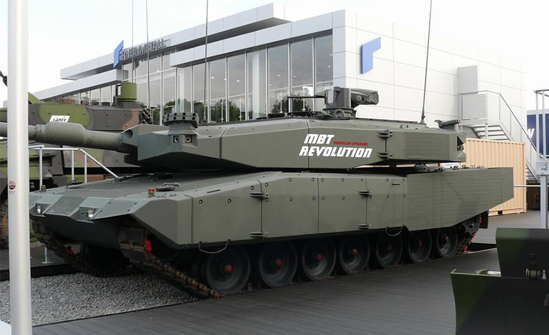 Танк Leopard 2 MBT Revolution