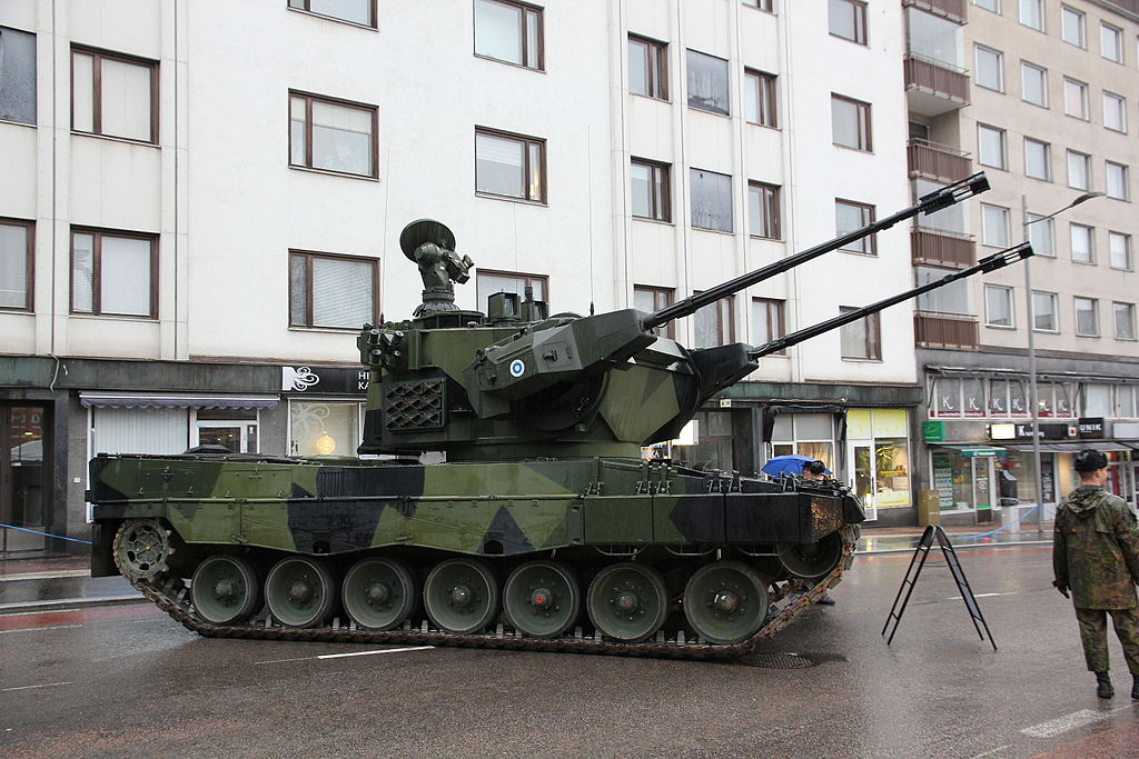Leopard 2 Marksman of the Finnish Army