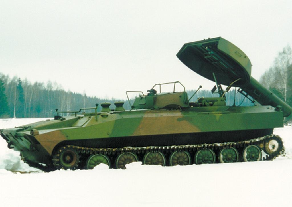 """УР-77 """"Метеорит"""" - схема разминирования"""