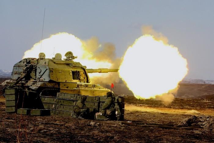 Самоходная артиллерийская регулировка 0С19 «Мста-С». Гаубица