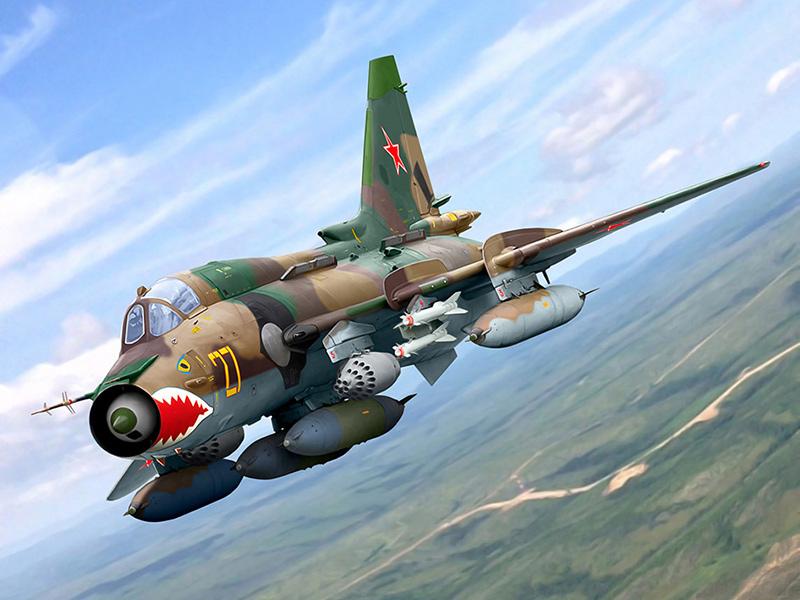 Су-17 - истребитель-бомбардировщик