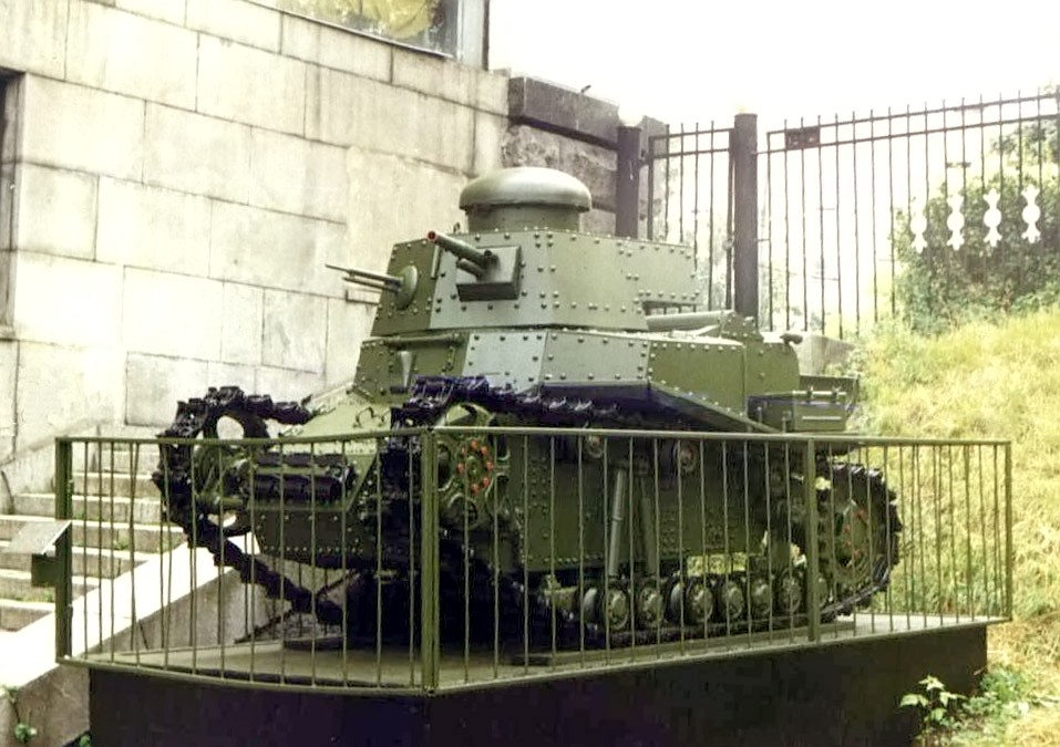 T-18 (MS-1) at the Moscow museum of Armed Forces