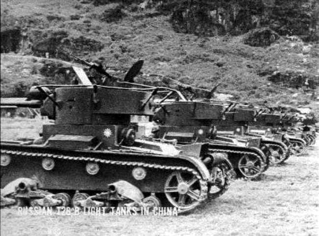 T 26 tanks in Hunan China