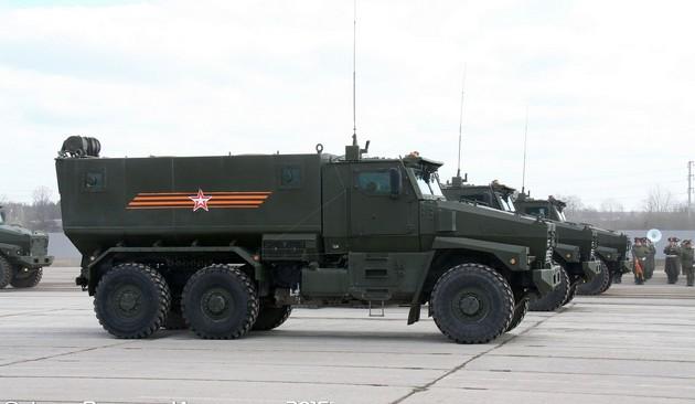 Урал-63095 «Тайфун-У» - модульный бронеавтомобиль